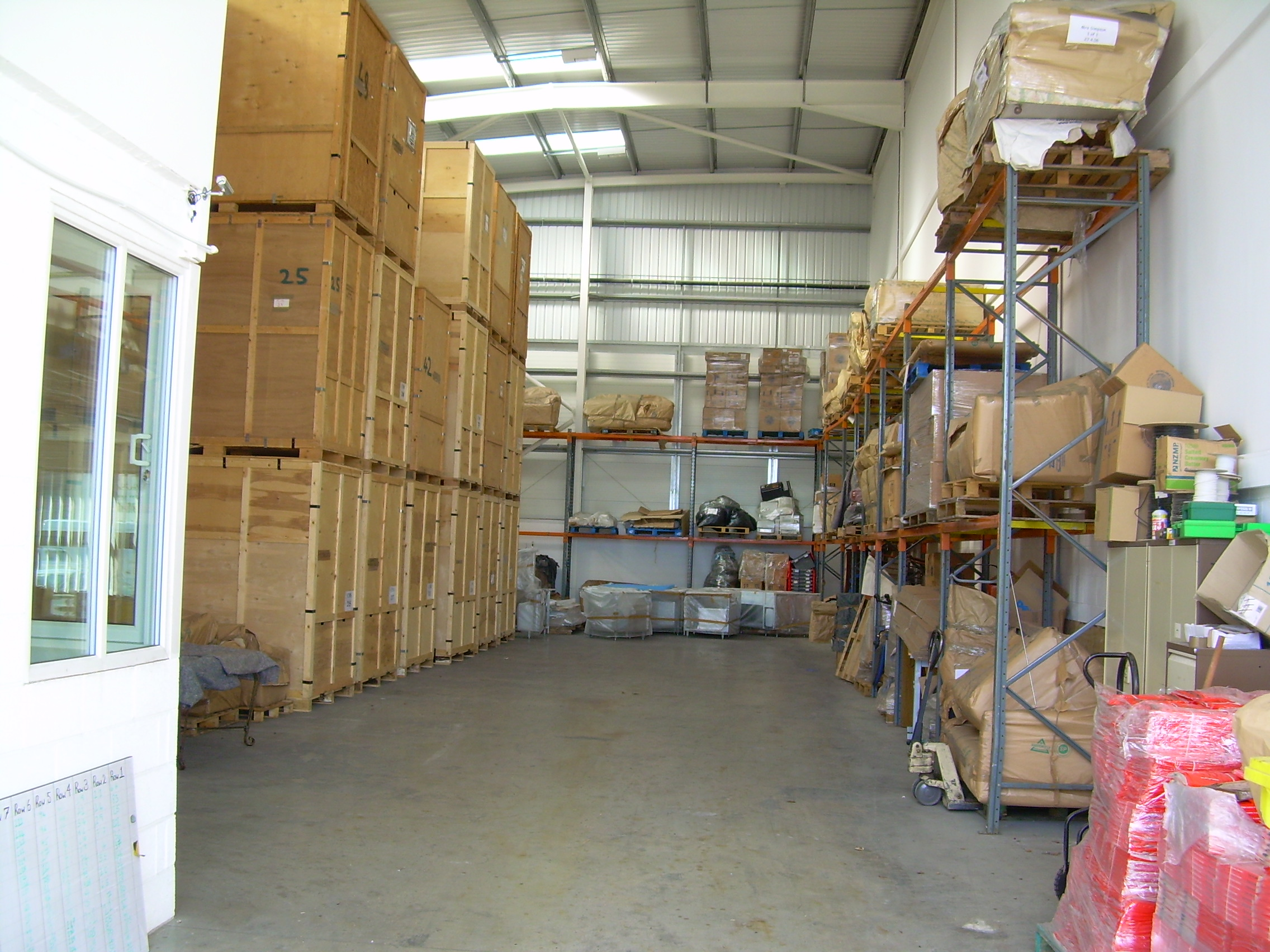 Cheshire Moving & Storage Warehouse